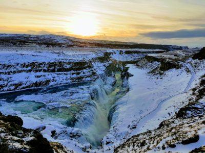 Gulfoss Waterfall